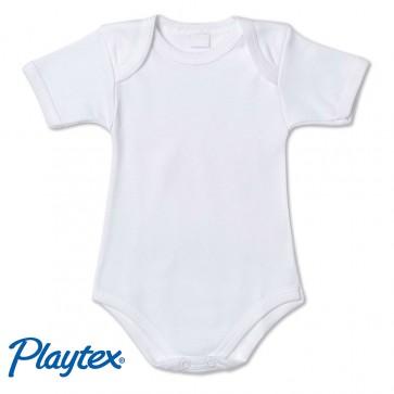 Body neonato mezza manica cotone Playtex mezza manica 100% cotone
