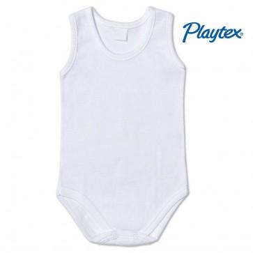Body neonato canotta cotone Playtex body spalla larga 100% cotone