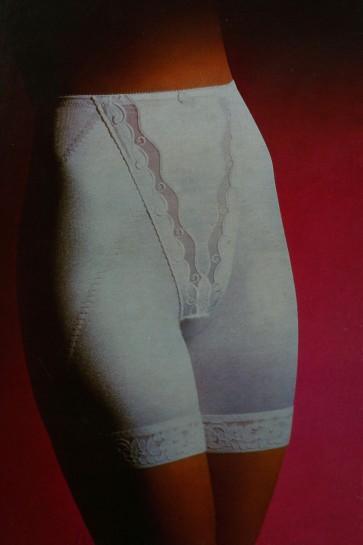 Guaina gambaletto Playtex Criss Cross con gamba ricamata tg. 2 colore Nero