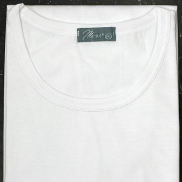 6 Maglie T-shirt Uomo Mansuè Puro Cotone mezza manica corta girocollo disponibile Bianco e Nero