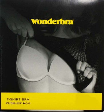 Reggiseni WONDERBRA T-SHIRT BRA push up W05EU 1 bianco + 1 nero