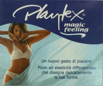 Tanga Perizoma Playtex con tulle e pizzo floreale 396209