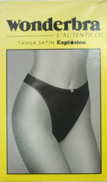 Tanga perizoma Wonderbra in microfibra satin 17041
