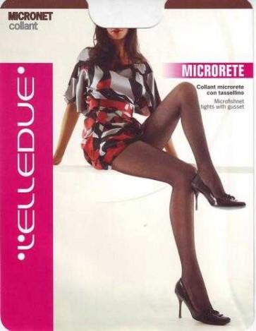 Collant Elledue MICRONET microrete con elastam etassellino