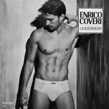 3 Slip uomo Enrico Coveri Underwear in cotone bielastico