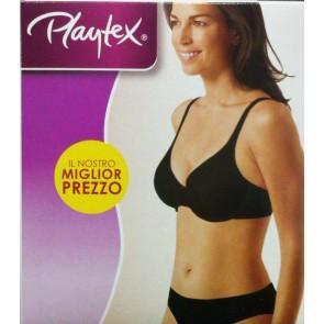 Reggiseno Playtex Push-up Miglior Prezzo Bianco Nero Pelle
