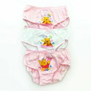 slip bimba bambina in cotone a fantasia Winnie the Pooh