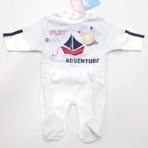 Tutina neonato maschietto 100% cotone Ellepi 3 mesi