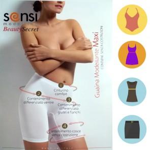 Guaina modellante maxi con gamba Sensi