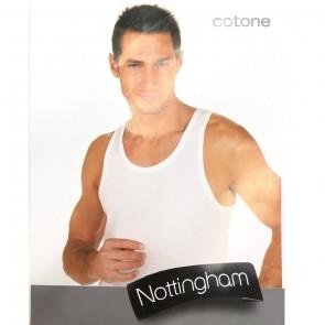 Canotta spalla larga cotone Nottingam