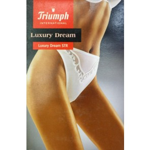 Tanga perizoma string Triumph Luxury dream in microfibra e pizzo floreale STR