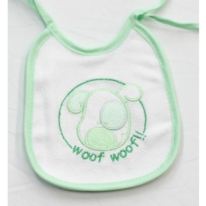 6 Bavetta bavaglino neonato in cotone e spugna mis. Piccola