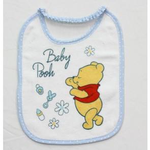 3 Bavetta bavaglino neonato in cotone e spugna Winnie the Pooh