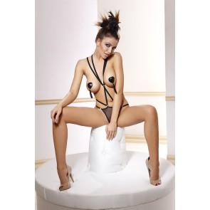 Body Sexy e provocante Anais lingerie Body Stringato Nero mod. Inez