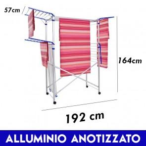 Stendibiancheria Alluminio MAXI per biancheria