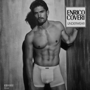 Boxer uomo Enrico Coveri Underwear in cotone bielastico
