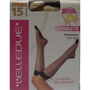 Gambaletto Elledue SPRING, velatissimo in stretch